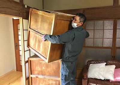 家事の力仕事のお手伝いします
